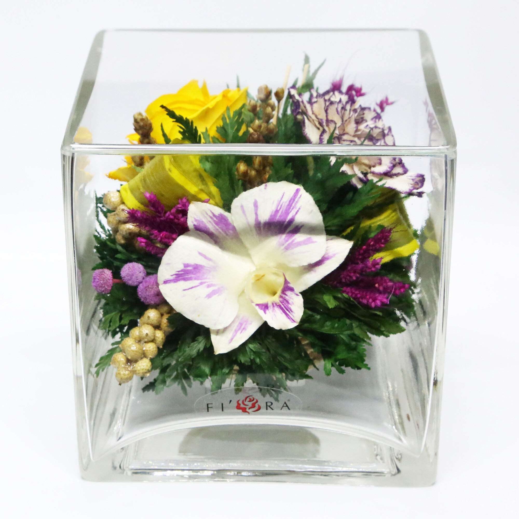 Bay Isle Home Mixed Floral Arrangements And Centerpiece In Decorative Vase