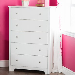 Best Reviews Olympia 5 Drawer Standard Dresser by Andover Mills