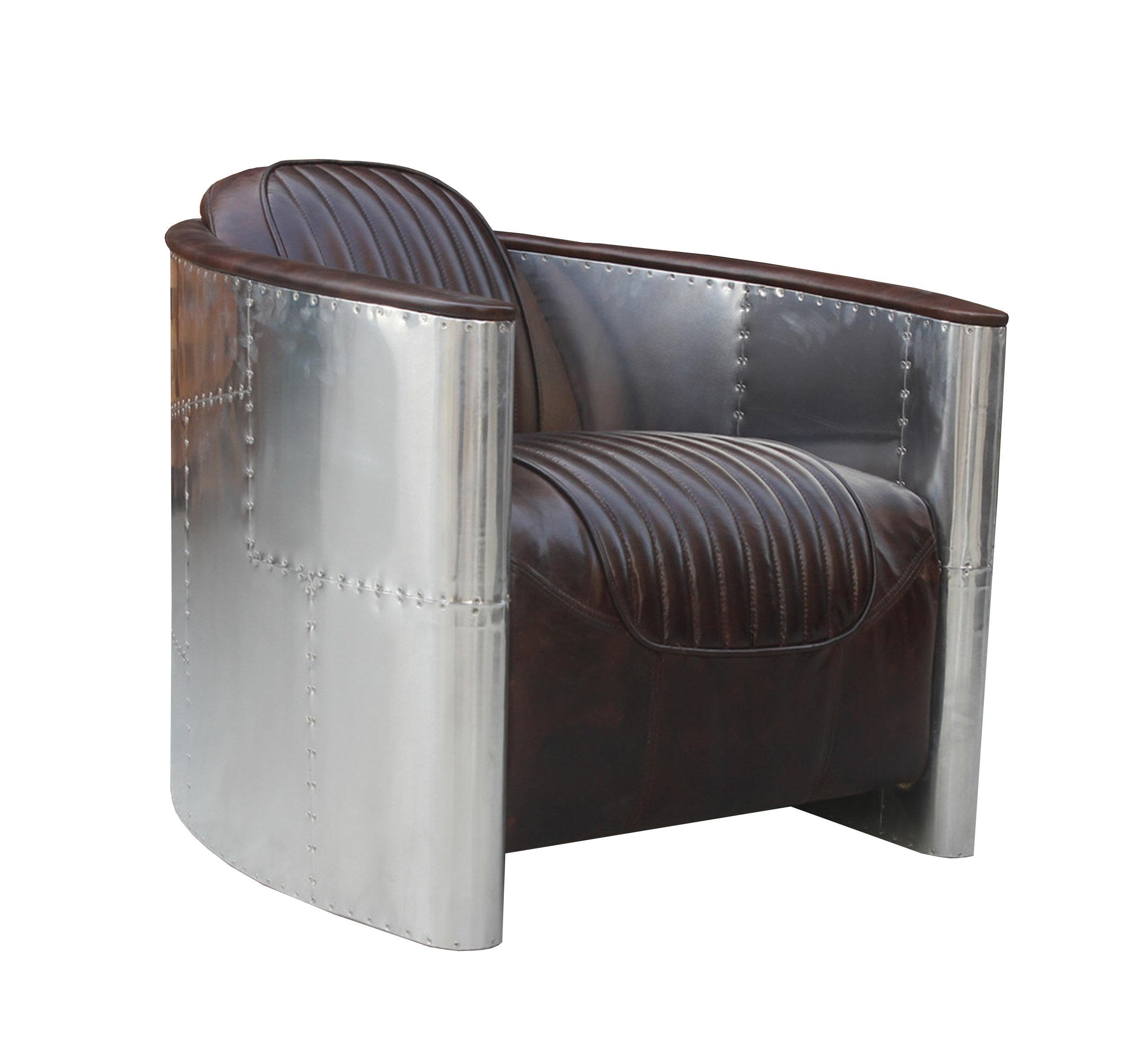 17 Stories Cully Barrel Chair Reviews Wayfair