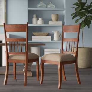 Tekamah Solid Wood Dining Chair Greyleigh