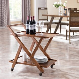 Andreas Bar Cart by Millwood Pines