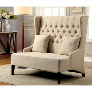 Shop Roberto Contemporary Loveseat by Charlton Home