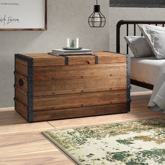 Gracie Oaks Mequon Storage Trunk Reviews Wayfair