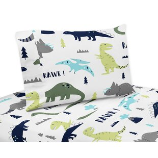 Sweet Jojo Designs Mod Dinosaur 3 Piece Sheet Set