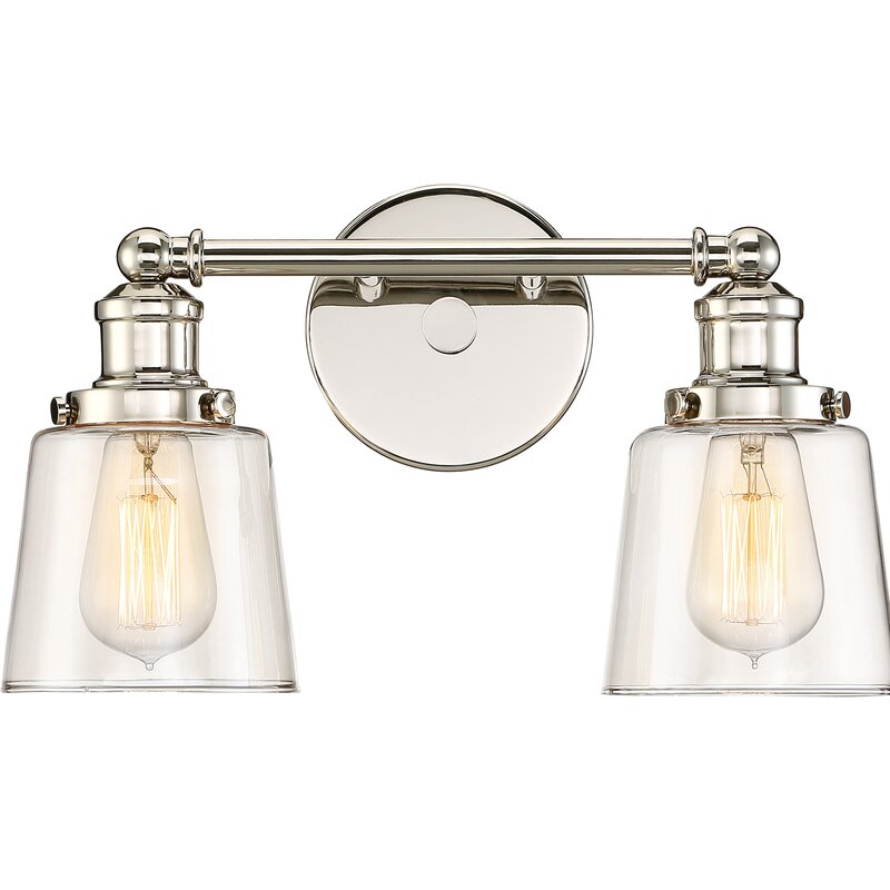 Beachcrest Home Gotha 3 Light Vanity Light Reviews: Beachcrest Home Woodburn 2-Light Vanity Light & Reviews