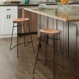 Travon Solid Wood 28 Bar Stool by Union Rustic