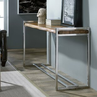 Review Live Edge Console Table By Hooker Furniture
