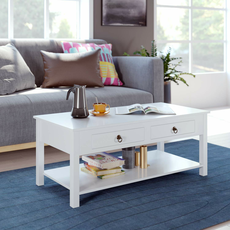 Latitude Run Alixis Coffee Table With Storage Reviews Wayfair
