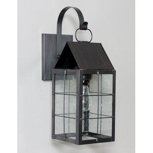 Brass Traditions 300 Series 1-Light Outdoor Wall Lantern