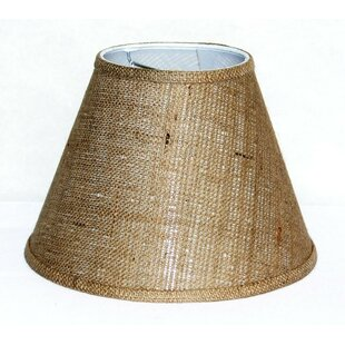 Lamp shades youll love wayfair 12 burlap fabric empire lamp shade aloadofball Image collections