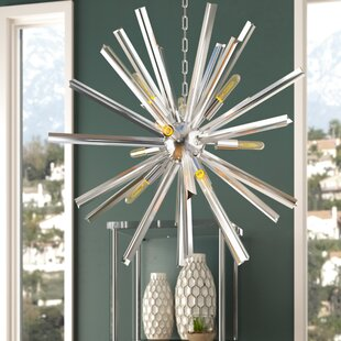 Neptune 9-Light LED Sputnik Chandelier