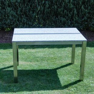 Davey Stainless Steel Dining Table By Ebern Designs