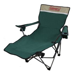 Portable Lounge Reclining Camping Chair with Cushion by ORE Furniture