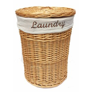 Wicker Laundry Bin By Brambly Cottage