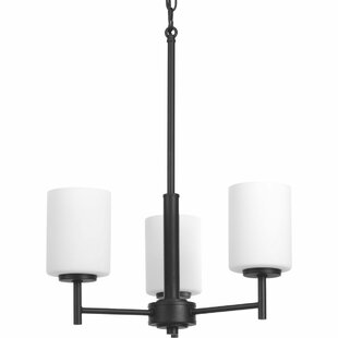 Knouse 3-Light Shaded Chandelier by Zipcode Design