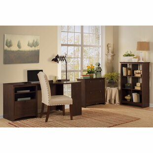 Darby Home Co Fralick 3 Piece L-Shape Desk Office Suite
