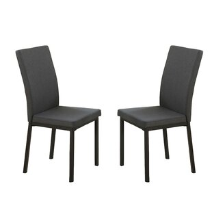 Bobkona Kasen Parsons Chair (Set of 2) by Poundex
