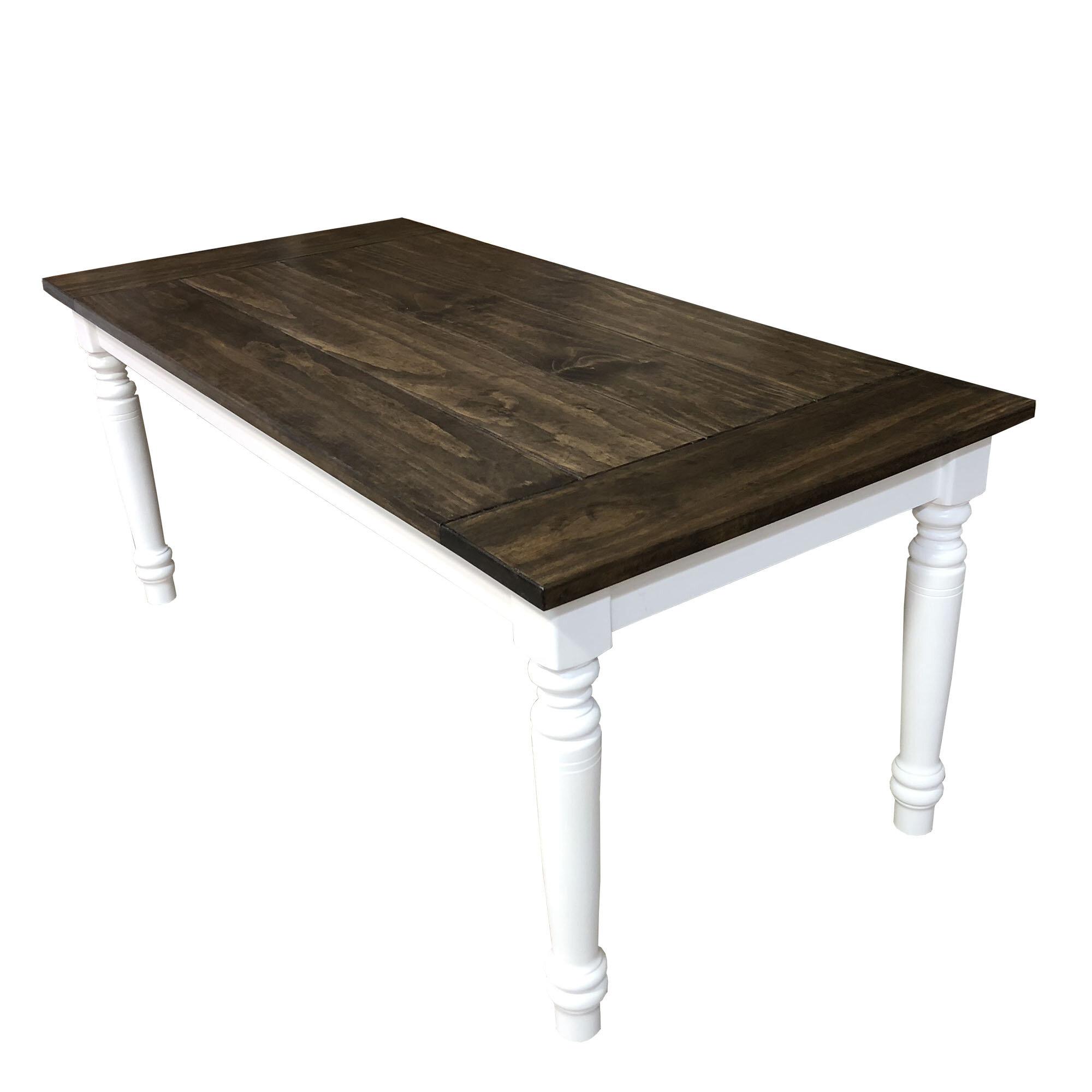 Potapchuk Fir Solid Wood Dining Table