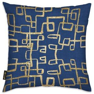 Navy And Gold Throw Pillow Wayfair
