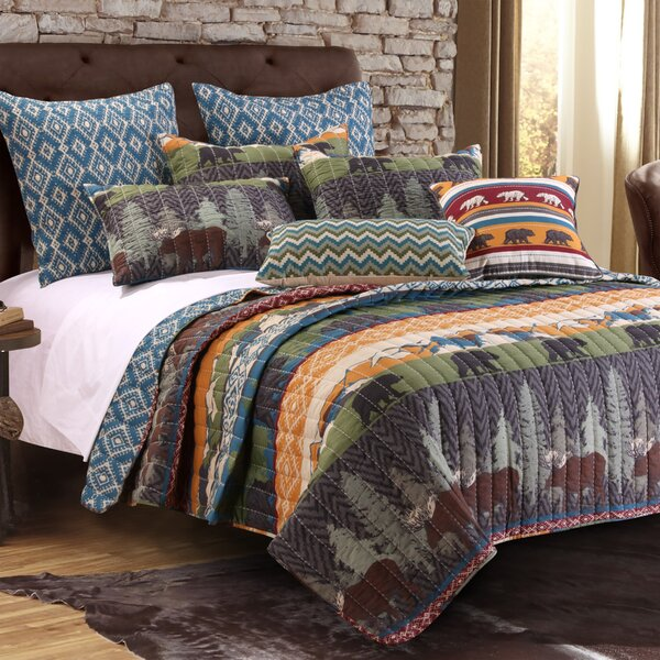 Rustic Mountain Cabin Bedding Wayfair
