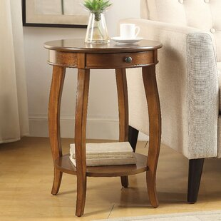 Best Sawin End Table by Winston Porter