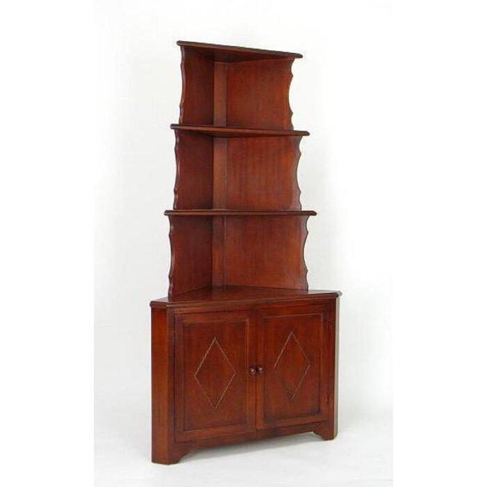 Woodward Corner Unit Bookcase