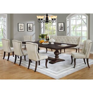 Kirt 7 Piece Dining Set Canora Grey
