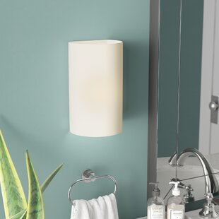 Online Reviews Scanlan Open Top and Bottom Small 1 Light Flush Mount By Latitude Run