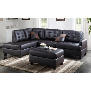 A&J Homes Studio Malz Sectional with otto..