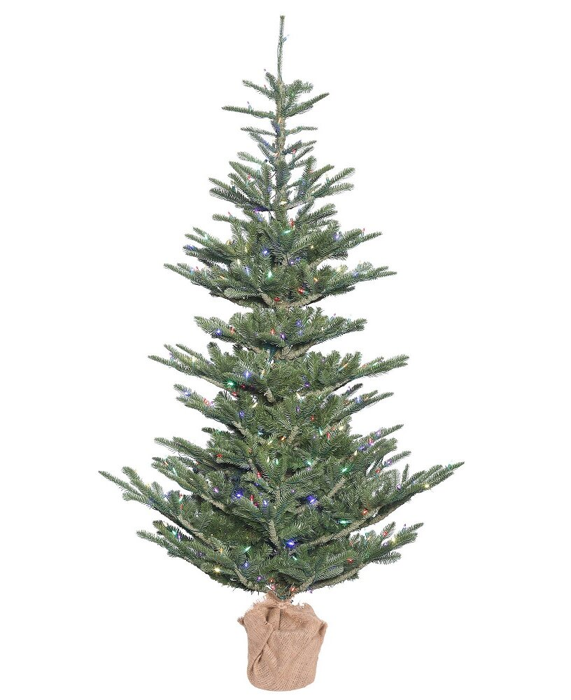 The Holiday Aisle 4\' Green Spruce Artificial Christmas Tree with 150 ...