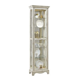 Tiano Weathered Standard Curio Cabinet