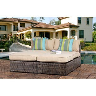 Hatcher Outdoor 4 Piece Seating Group with Cushions
