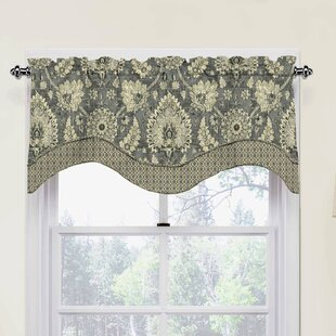 Clifton Hall Scalloped 52 Window Valance