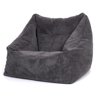 Soul Slouch Jumbo Cord Bean Bag Chair by Metro Lane