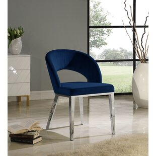 Cambria Upholstered Dining Chair by Everly Quinn