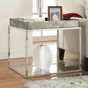 Malia End Table by Willa Arlo Interiors