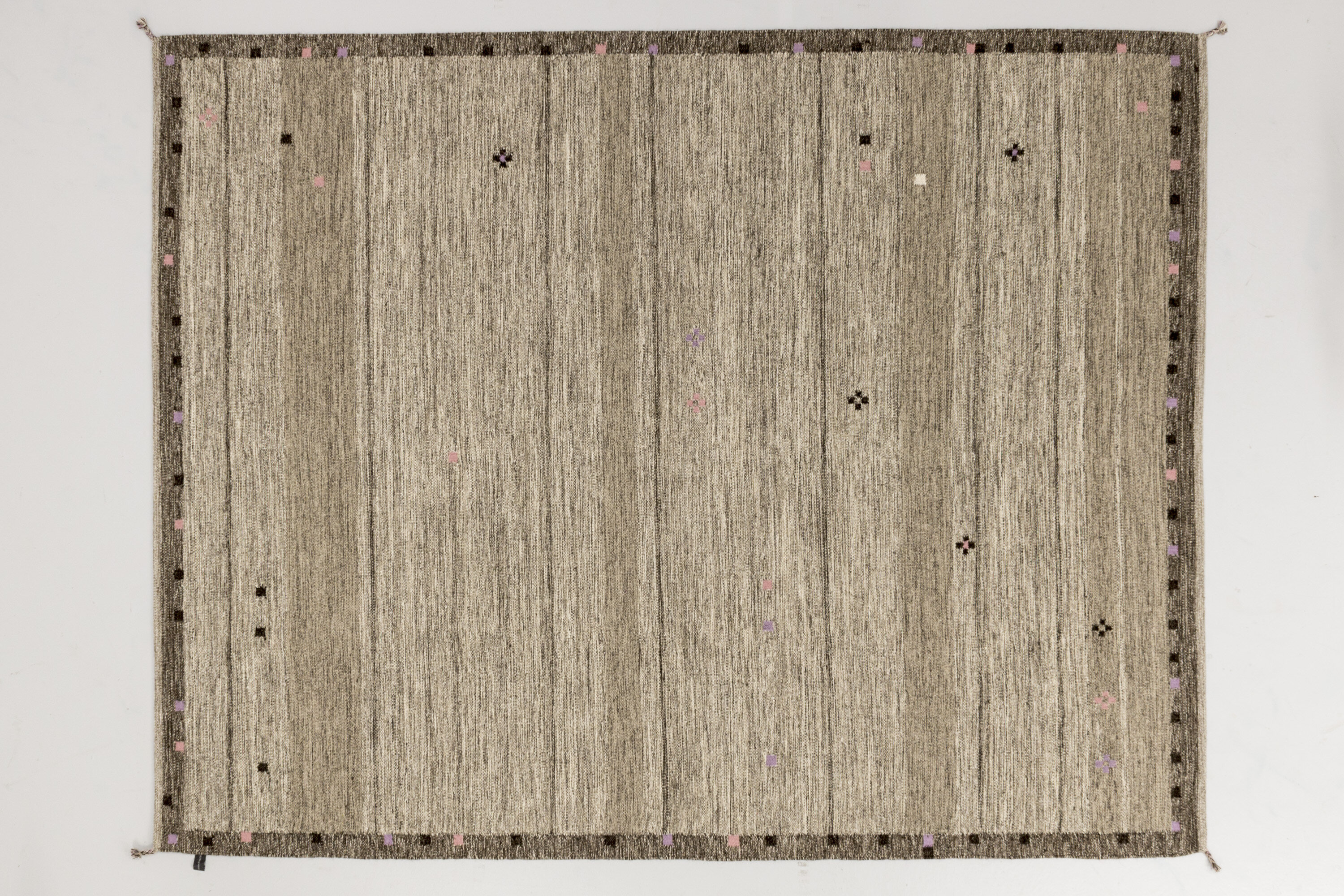 Solo Rugs Grit And Ground Hand Knotted Wool Gray Area Rug Perigold