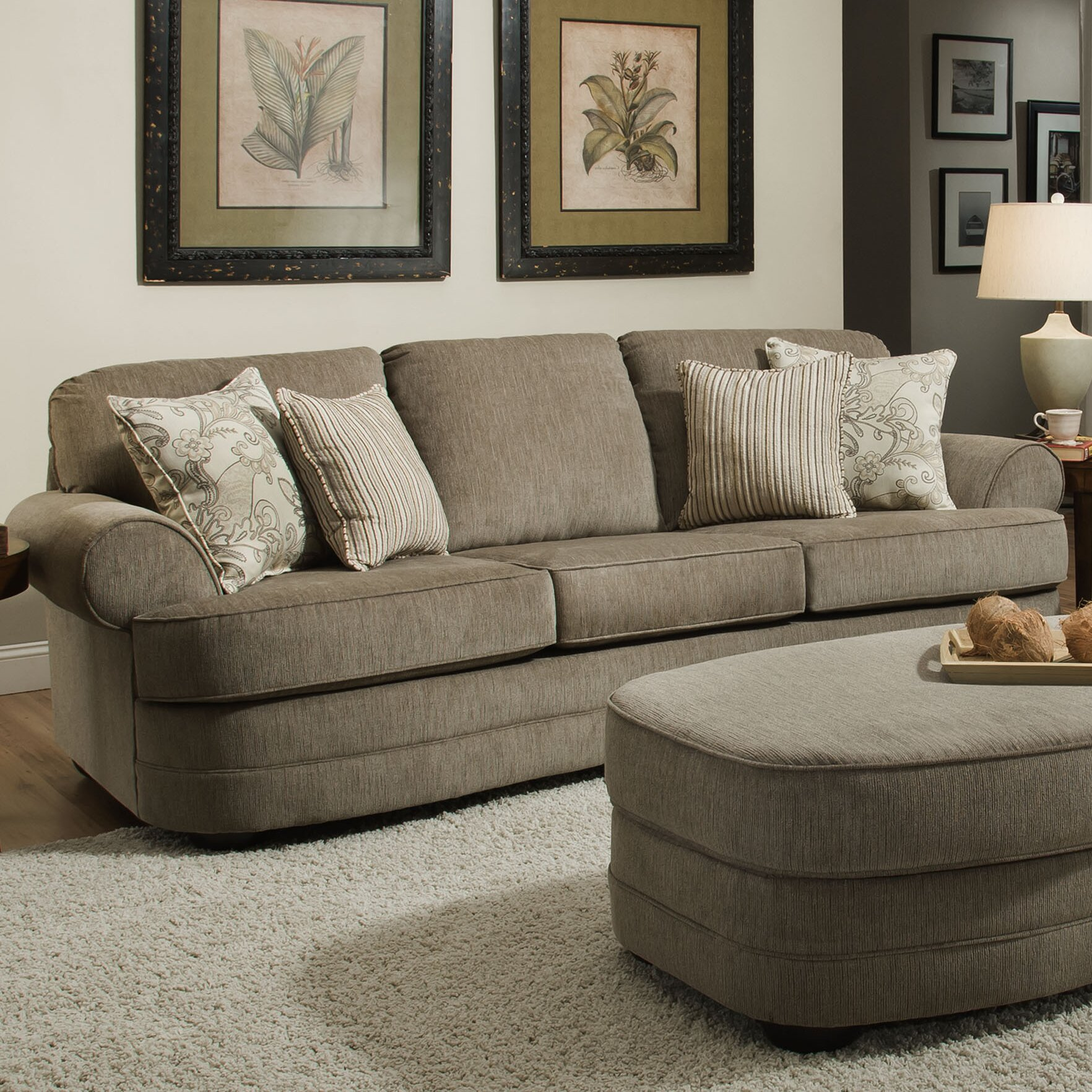 Beautiful Simmons Upholstery Ashendon Sofa With Simmons Beautyrest Sofa Bed
