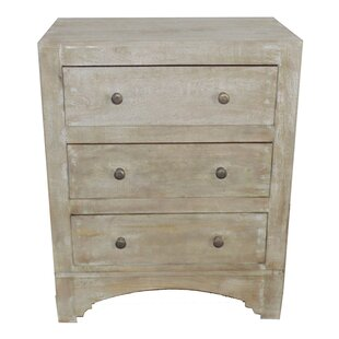Nicholls 3 Drawer Bachelor's Chest