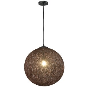Petrus 1-Light Pendant by Wrought Studio