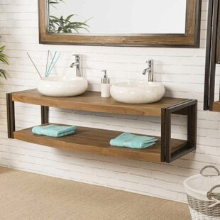 Kain 145mm Wall Hung Double Vanity Unit By Bloomsbury Market