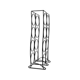 Spectrum Diversified Curve 8 Bottle Tabletop Wine Rack