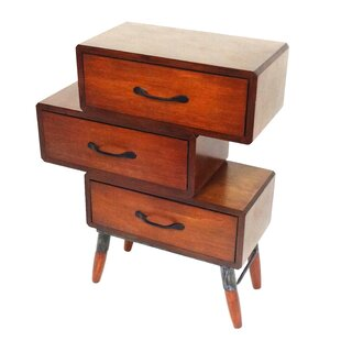 Check Prices 3 Drawer Bachelor's Chest by Jeco Inc.