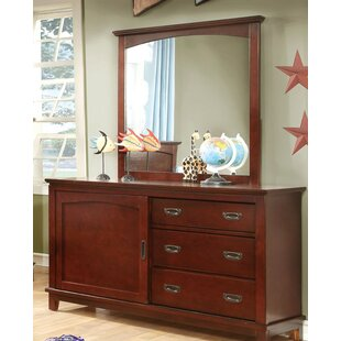 Hokku Designs Alma 3 Drawer Combo Dresser