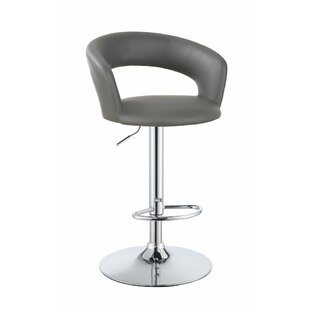 Adjustable Height Swivel Bar Stool by Infini Furnishings
