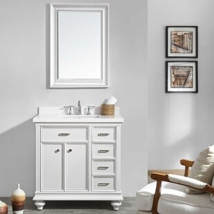 Weisner 36 Bathroom Vanity Set with Mirror by Alcott Hill
