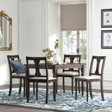 Anastasie 5 Piece Dining Set by Kelly Clarkson Home