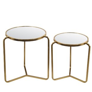 Dowden 2 Piece End Table Set by Mercer41