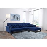 Swearingen 149 Reversible Sleeper Sectional with Ottoman by Rosdorf Park