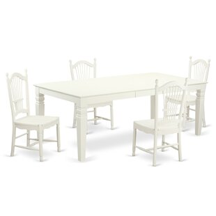Cobleskill 5 Piece Dining Set by Alcott H..